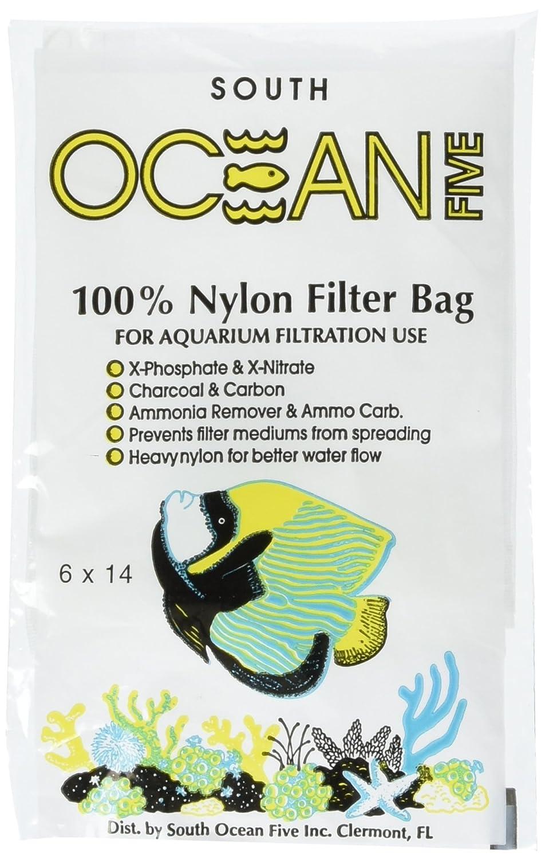South Ocean Five AOF00614 Sac filtre 6 po x 14 po SOUTH OCEAN FIVE INC 506502