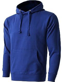 02fa9db21 Hat and Beyond Mens Fleece Pullover Hoodie Heavyweight Active Sweatshirts  1HCA0009