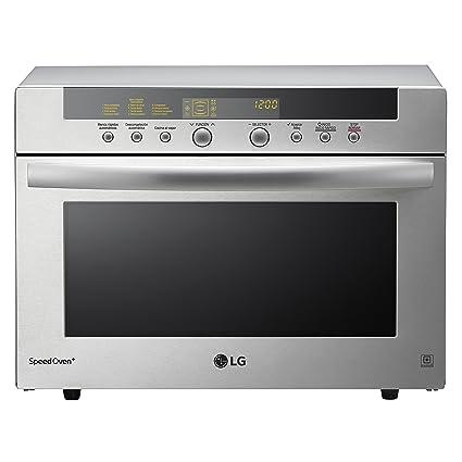 LG MA3884VCT - Microondas 4 en 1, convección máxima 2.800 W, grill 1600 W