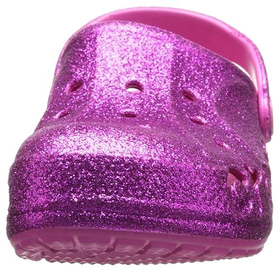 12b7cf4bc7a586 crocs 16260 Baya Hi Glitter Kids Clog (Toddler Little Kid)