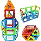 Blocs Construction Magnétique, Potensic® Blocs de Construction Magnétiques Jouet éducatif et construction créative pour enfants (72 Pièces)