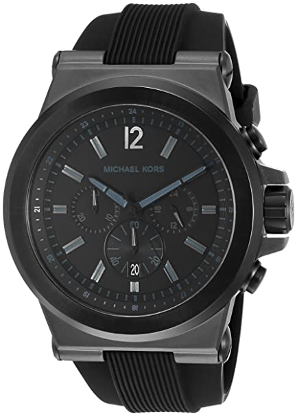 be5a0a6203ef Michael Kors Men s MK8152 Ross Black Watch  Michael Kors  Amazon.ca  Watches