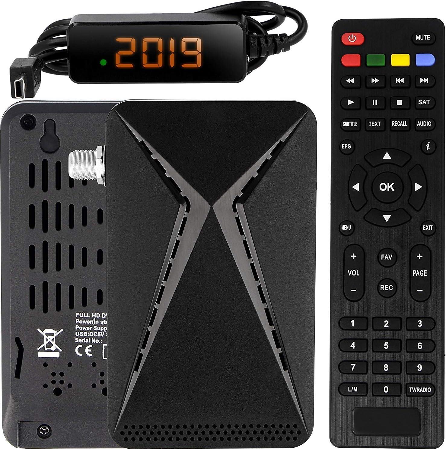 DVB S/S2 Satellite Receiver   Full HD   1080 P   HDMI   2 x ...