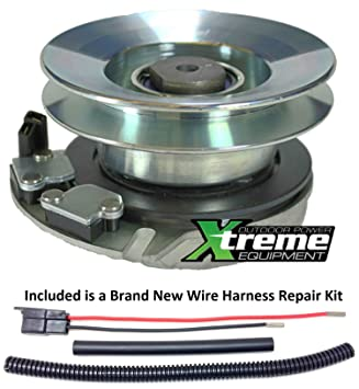 81r4ND%2BQU7L._SY355_ amazon com bundle 2 items pto electric blade clutch, wire cub cadet pto clutch wire harness repair kit at cos-gaming.co