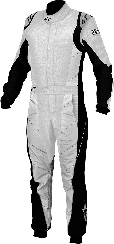 Alpinestars 3354113-192-52 Silver//White Size-52 GP Tech Suit