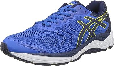 Asics Gel-Fortitude 8 (2e), Zapatillas de Running para Hombre, Azul Victoria Blue Indigo Blue Sulphur Spring 4549, 42 EU: Amazon.es: Zapatos y complementos
