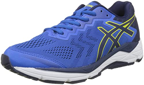 Asics Gel-Fortitude 8 (2e), Zapatillas de Running para Hombre, Azul (Victoria Indigo Blue/Sulphur Spring 4549), 42 EU: Amazon.es: Zapatos y complementos
