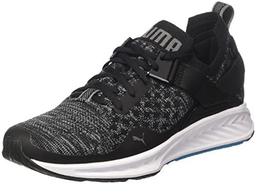 Nero 39 EU PUMA IGNITE EVOKNIT LO WN'S SCARPE RUNNING DONNA BLACK ELECTRIC