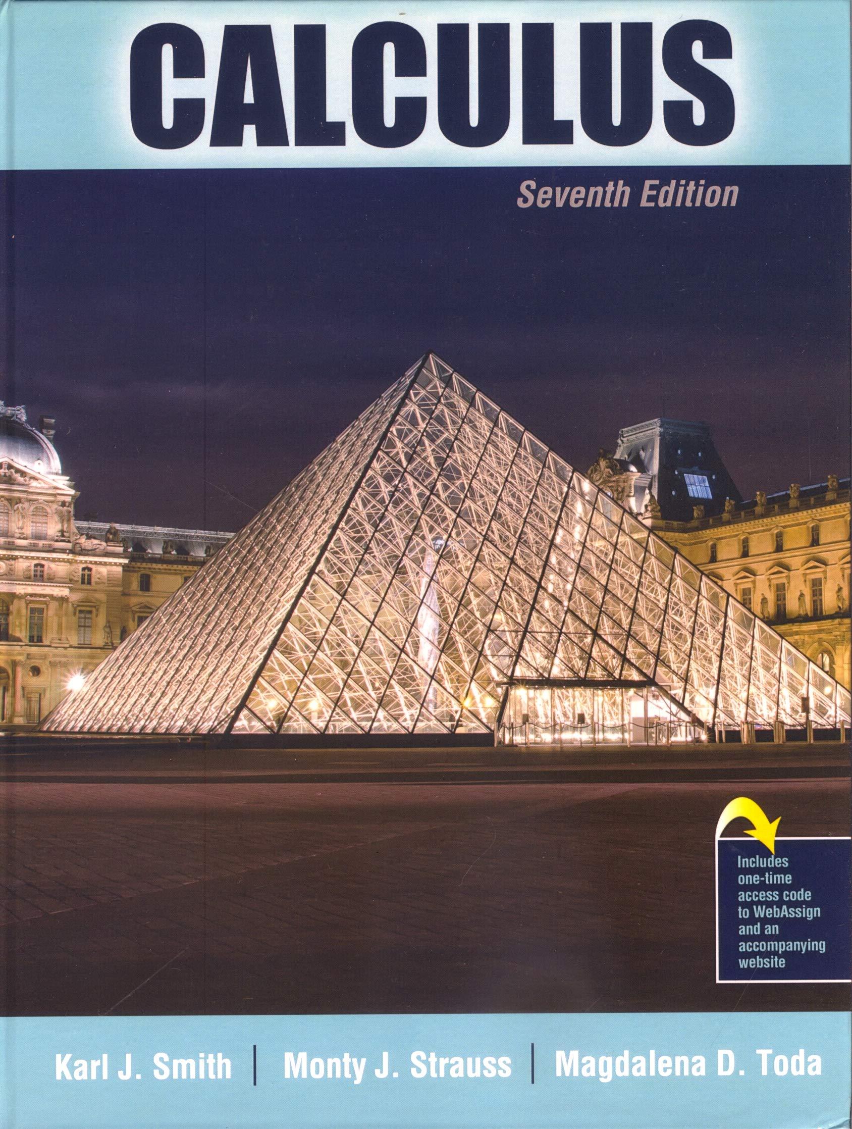 Calculus: Amazon.es: Smith, Karl J., Strauss, Monty, Toda ...