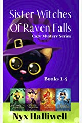 Sister Witches Of Raven Falls Cozy Mystery Series, Books 1-4 Kindle Edition