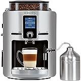 Krups EA 826E Espresso machine 1.7L 2tazas Acero inoxidable - Cafetera (Independiente, Totalmente automática, Espresso machine, Granos de café, De café molido, Acero inoxidable, Aluminio, Acero inoxidable)