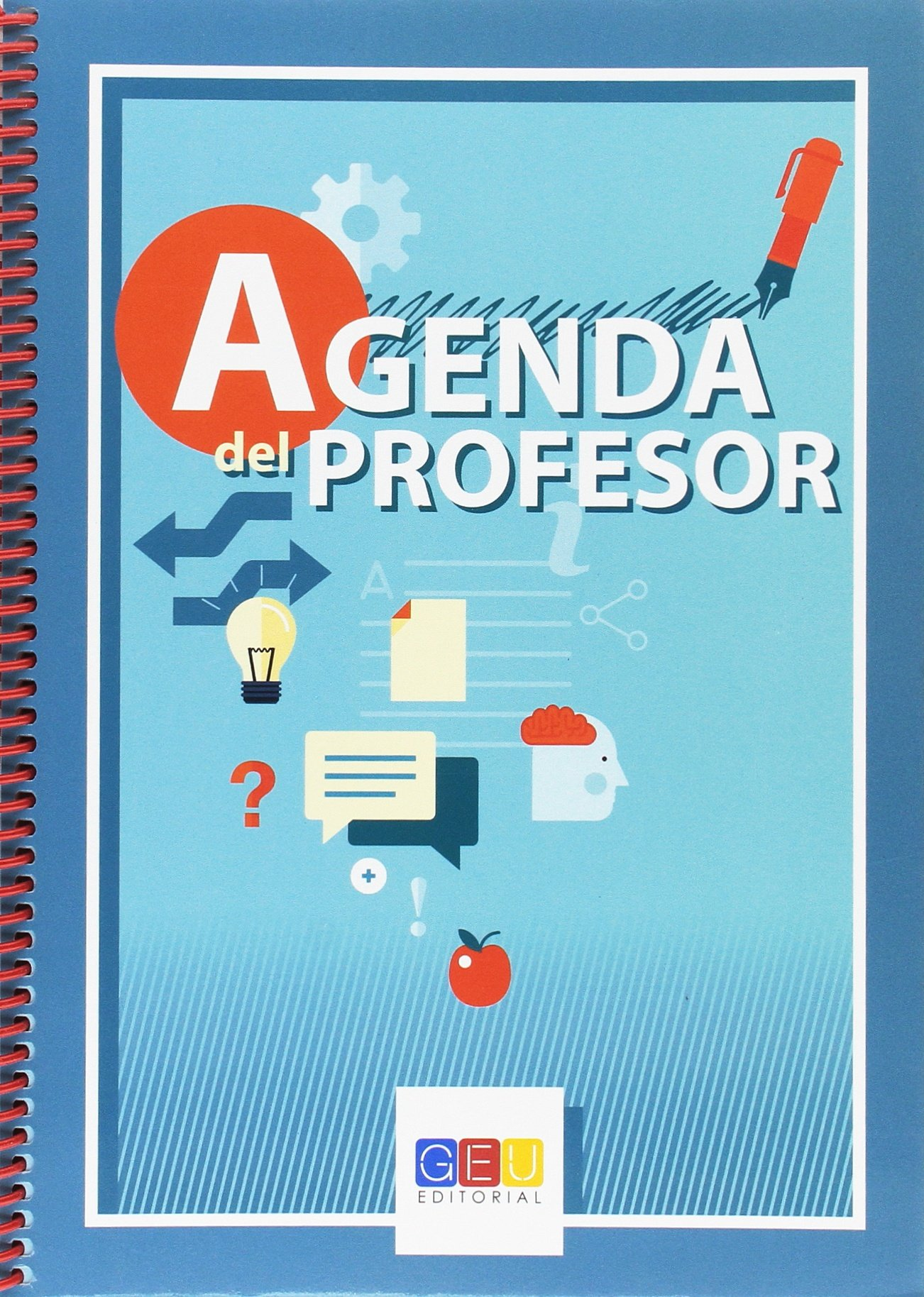 Agenda del profesor: Amazon.es: Libros