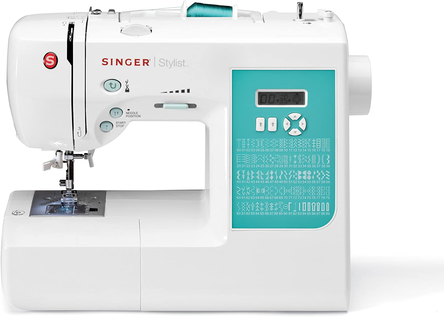 Singer Factory Serviced 7258 Stylist 100-Stitch máquina de Coser ...