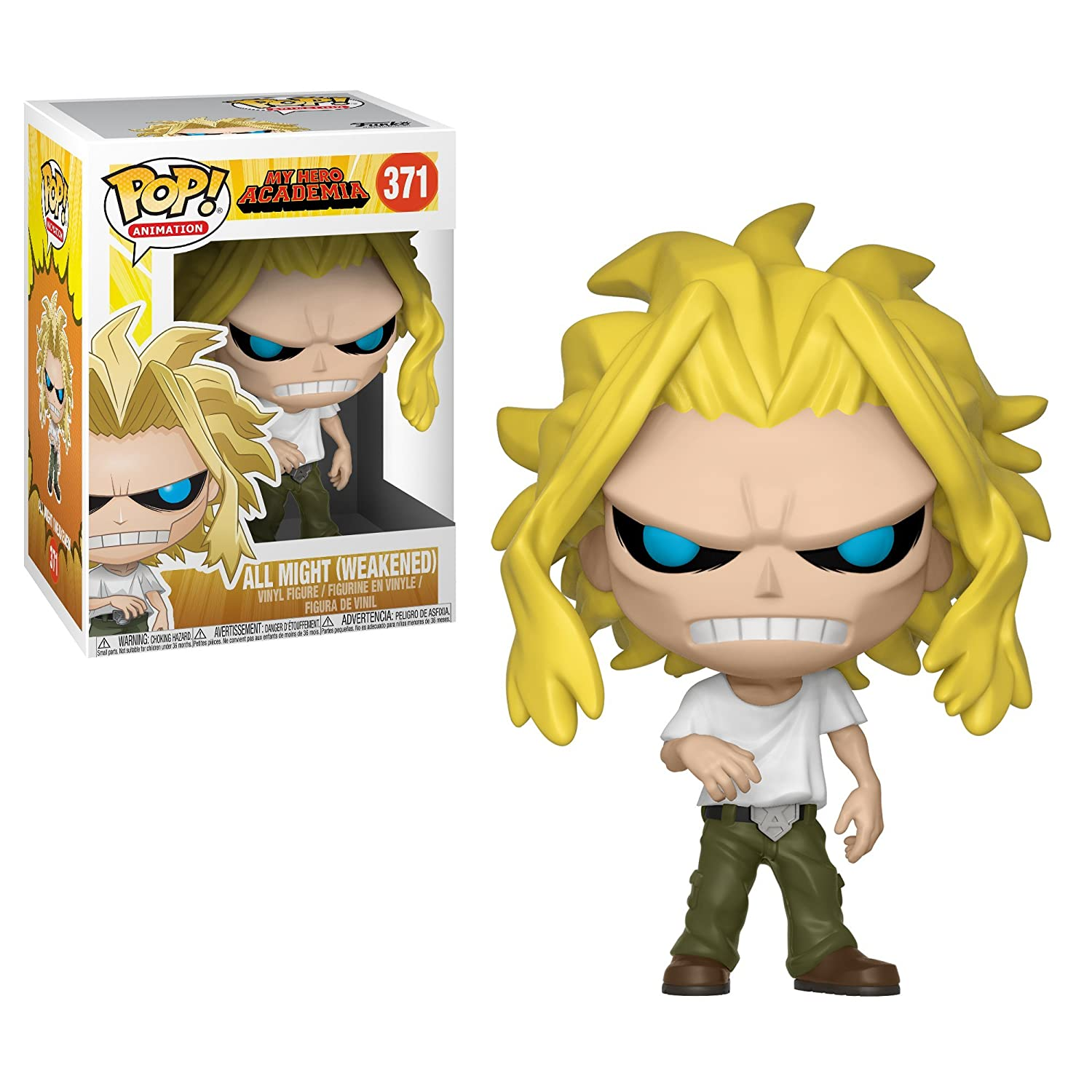 d385ea149d0 Amazon.com  Funko POP! Animation  My Hero Academia - All Might Collectible  Figure