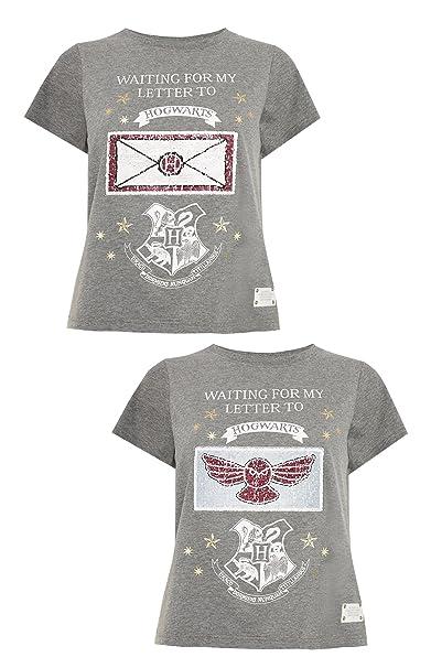 Primark - Camiseta - para Mujer Gris Gris Large