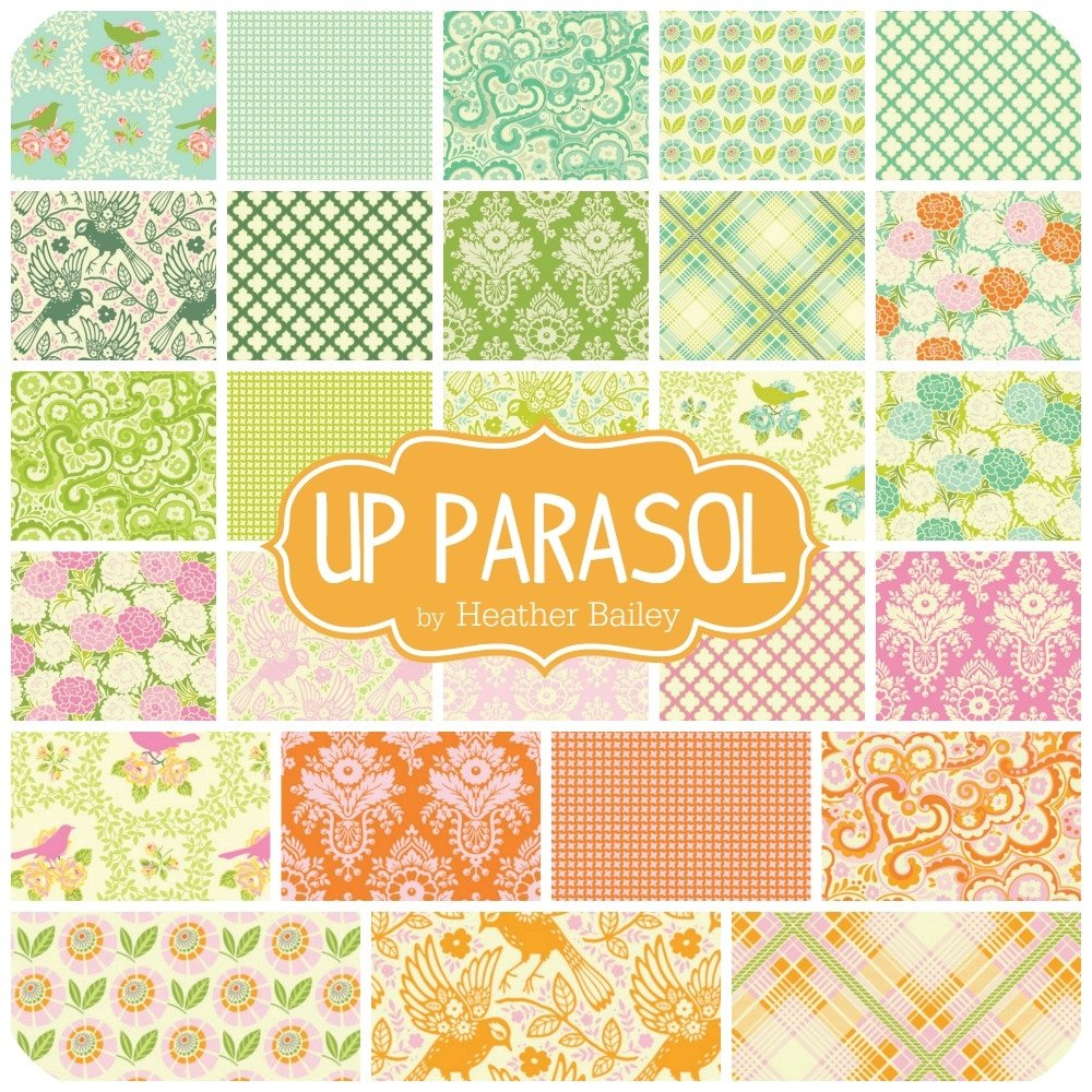 Up Parasol Jelly Roll Hb Up 27jr By Heather Bailey For Freespirit