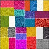 Alison Glass SUN PRINT 2017 Precut 5-inch Single Scoop Charm Pack Cotton Fabric Quilting Squares Assortment Andover Fabrics