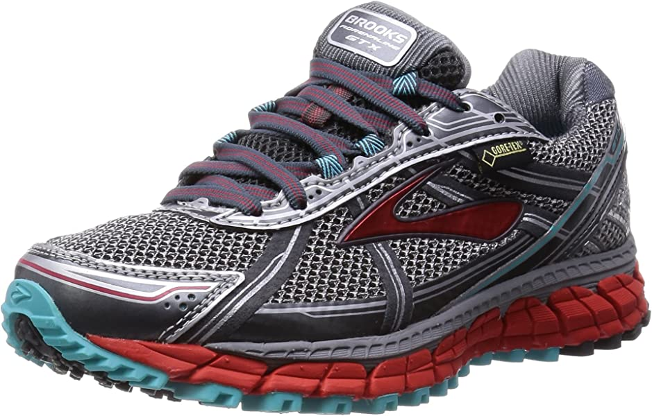 e3356520d4e3f Brooks Women s Adrenaline ASR 12 GTX Running Shoes Grey Grau  (Anthracite Hibiscus Capri) 3.5  Amazon.co.uk  Shoes   Bags