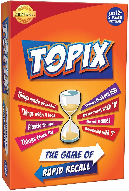 Juego De Mesa Familiar Cheatwell Games Topix: Amazon.es: Juguetes ...