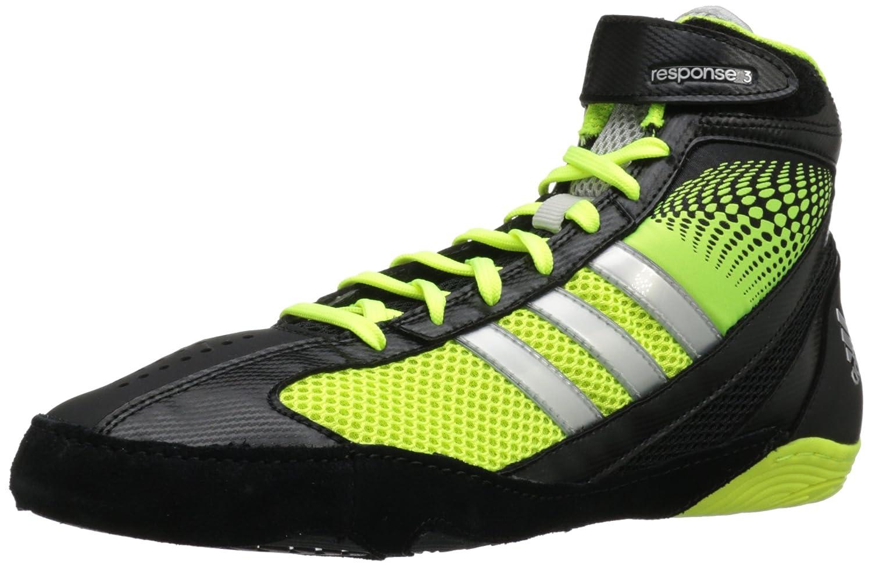innovative design 3818d f4dc9 ... ringerschuhe chaussures de lutte black gum 11 uk 46 eur promo code for adidas  wrestling mens response 3.1 wrestling shoe amazon shoes bags f83a7 2d17d ...
