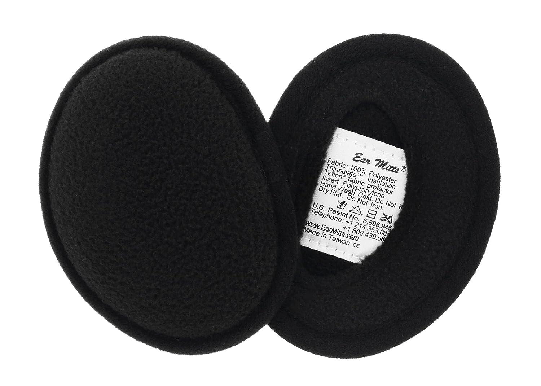 Ear Mitts Bandless Ear Muffs For Men /& Women Soft Fleece Ear Warmers 2 Sizes