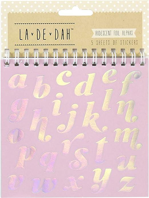 Alpha La De Dah Sticker Flip Book
