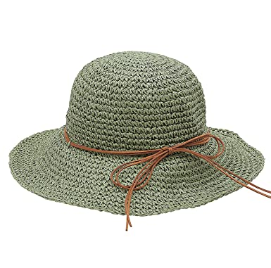 Urbancoco Damen klappbare Kappe flexible Sommer Strand Sonne H/üte