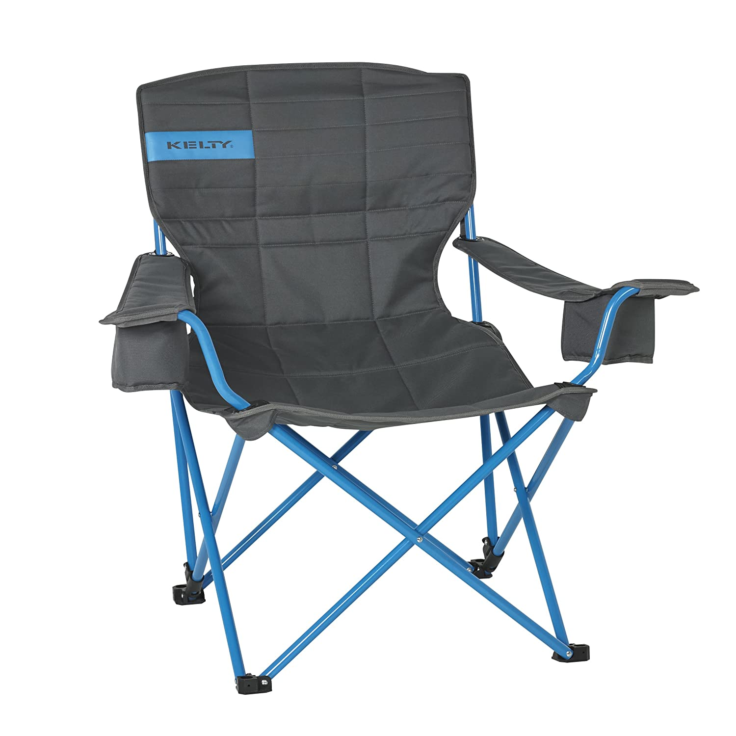 amazon com kelty low loveseat camp chair smoke paradise blue