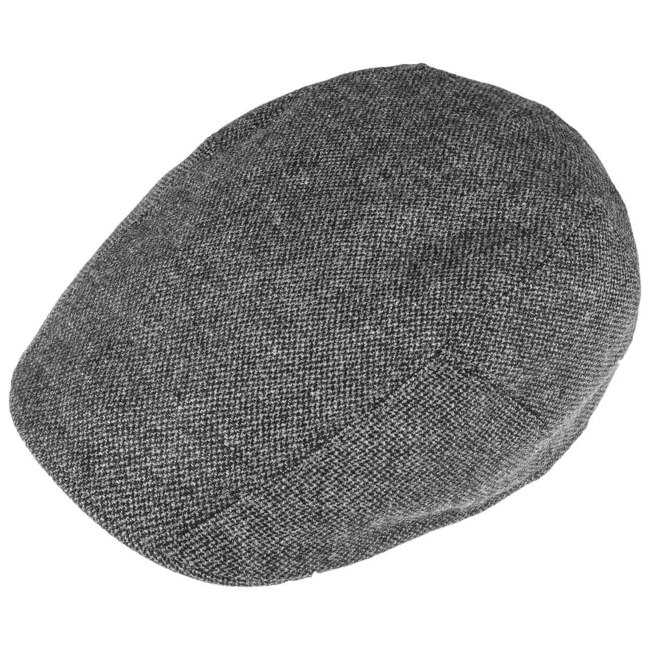 Stetson Gorra Ridge Wool Hombre Made in The EU de Invierno Gorro Ivy Lana con Visera oto/ño//Invierno
