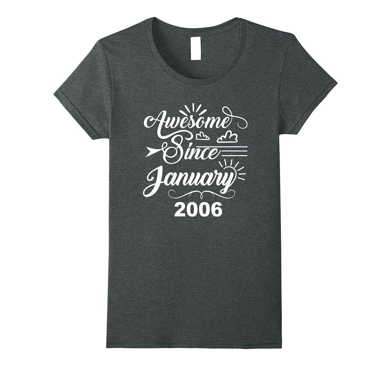 Womens 12th Birthday Gifts Awesome-Teechatpro