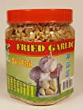 Fried Garlic Coconut Tree Jar 6oz (170g) Asian Vietnamese Thai Cuisine Crunchy Condiment