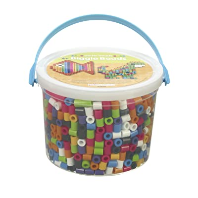 Perler Beads Biggie Beads Fuse Bead Activity Kit for Kids Crafts, 1200 pcs: Arts, Crafts & Sewing