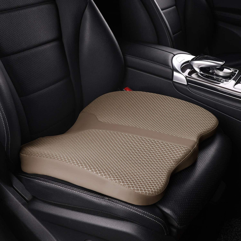 U-Shape Striped Basics Memory Foam Seat Cushion