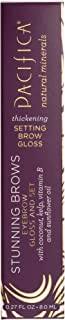 product image for Pacifica Beauty Stunning Brows Eye Brow Gloss & Set, Clear, 0.27 Ounce