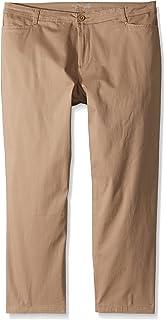 04cb49fd2f8c Riders by Lee Indigo Women's Plus Size Straight Leg Casual Twill Pant