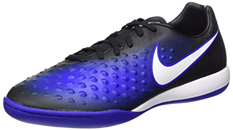 0b8a5336dd9 Image Unavailable. Image not available for. Color  NIKE Magistax Onda II IC  Indoor Soccer Shoe (Sz.9.5) Black