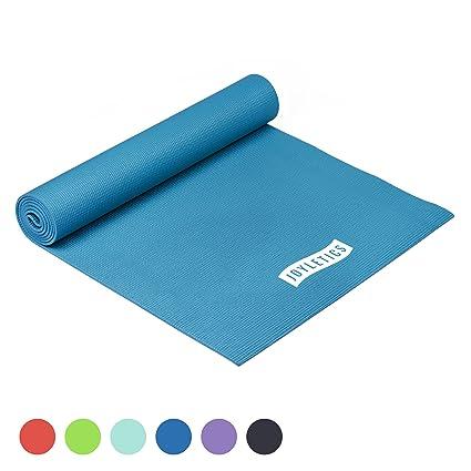 Joyletics® Colchoneta de Yoga - Esterilla Antideslizante Ideal para Yoga, Pilates o Gimnasia - práctica y Ligera