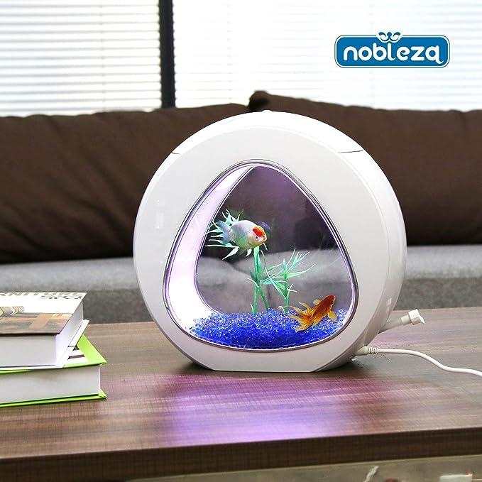 Pecera de 5L diseño futurista Nobleza 030026