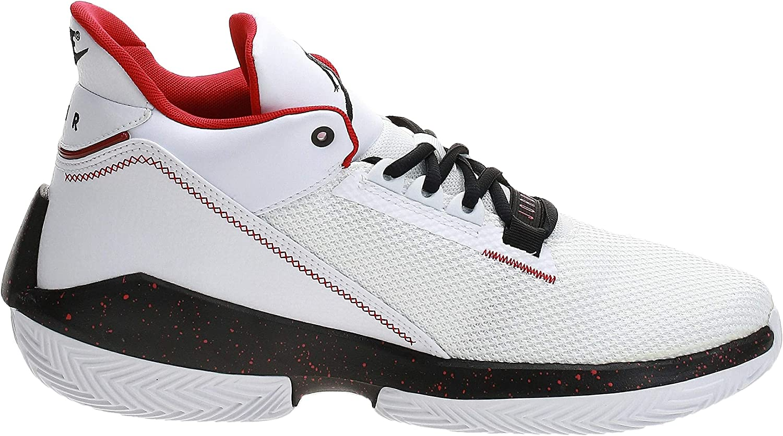 Nike Jordan 2x3 Basketbalschoenen voor heren White Black Gym Red