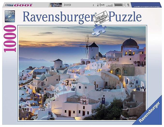 Ravensburger - Santorini, Rompecabezas de 1000 Piezas, 70 x 50 cm (196111): Amazon.es: Juguetes y juegos