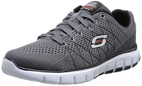 Skechers Skech-flex, Men's Low-Top Sneakers, Grau (Ccbk),
