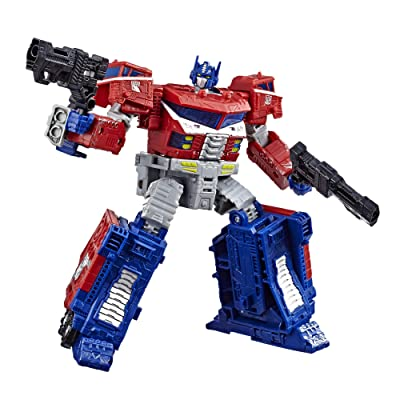 Transformers Toys, Siege war for cyberton trilogy Generations War Optimus Prime Action Figure - age 8+: Toys & Games