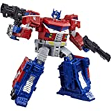 "TRANSFORMERS Generations War for Cybertron Siege - WFC-S40 Galaxy Upgrade Optimus Prime 7"" Leader Class Action Figure - Kids Toys and collectibles - Ages 8+"