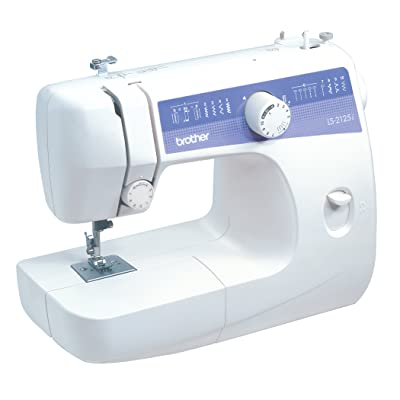Brother LS2125i Easy-to-Use, Everyday Sewing Machine with 10 stitches including Blind Hem and Zigzag