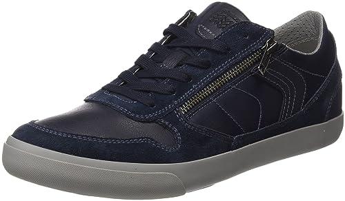 New Balance 500, Zapatillas para Mujer, Azul (Navy/Purple Rnp), 40.5 EU