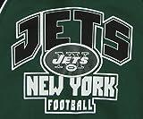 NFL Toddler's New York Jets Pullover Fleece Hoodie, Green 2T