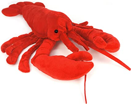 Lovely Kids Cute Lobster red plush Doll plush toys 3 Size can be choosed