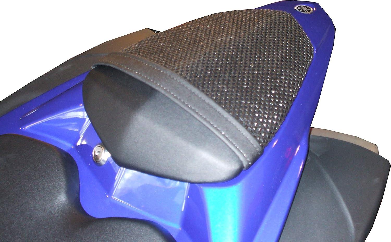 2009-2014 Cubierta TRIBOSEAT para Asiento Antideslizante Accesorio Personalizado Negro Compatible con Yamaha YZF R1