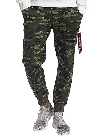 premium selection 039eb 429d8 Alpha Industries Herren Jogginghosen X-Fit Camouflage L