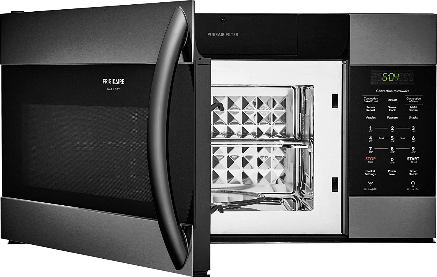 Frigidaire FGMV155CTD Gallery Series 30 Inch Over the Range ...